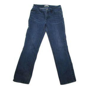 J Jill Smooth Fit Women 6 Petite Zip Closure Jeans